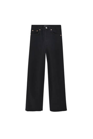 Basic culotte jeans