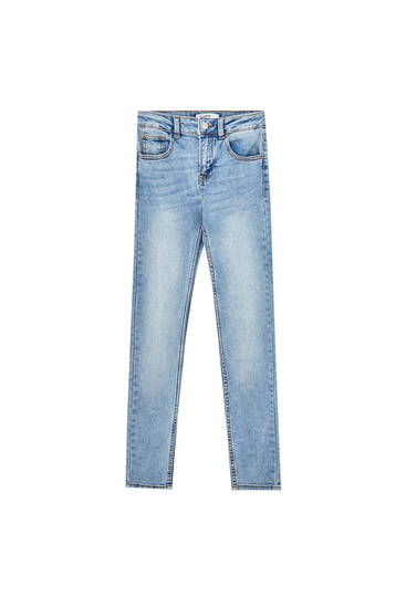 Jean skinny taille basse