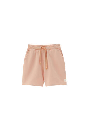 Pastel-coloured jogger shorts