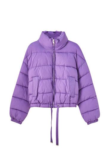 Krátká bunda puffer