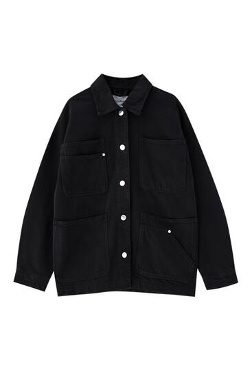 Cotton safari jacket
