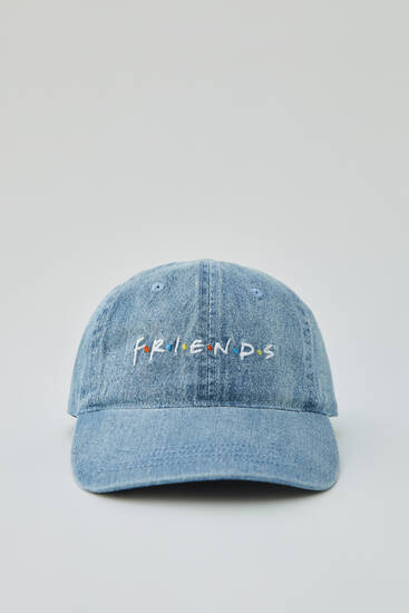 Friends denim cap