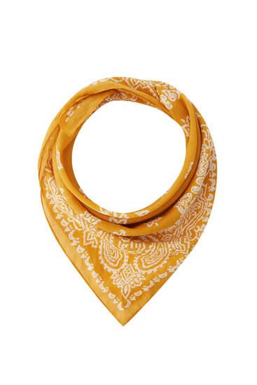 Pañuelo estampado bandana