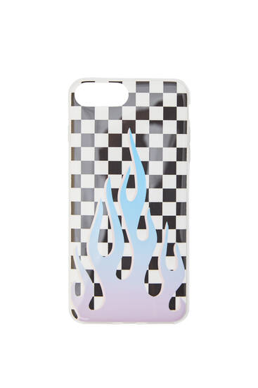 Chequered smartphone case