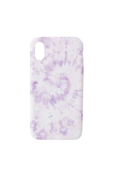 Tie-dye smartphone case