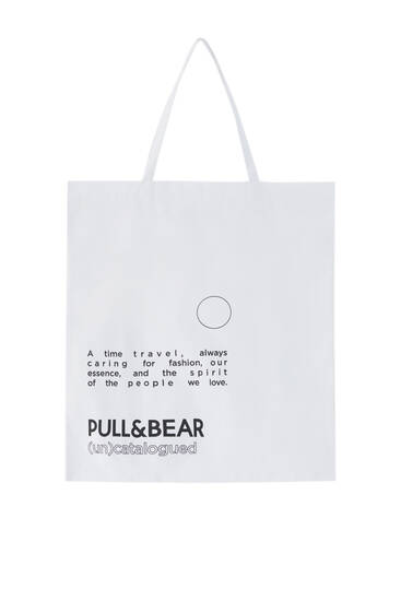 (Un)Catalogued slogan bag