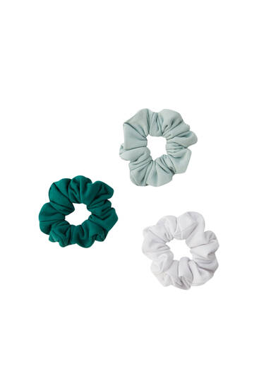 Pack coleteros verdes blanco