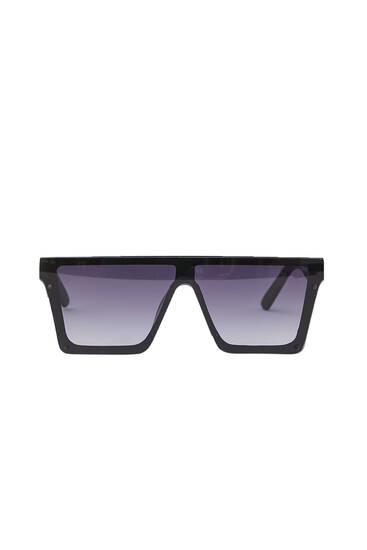 Egybeépített napszemüveg