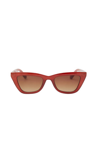 Gafas sol cat eye teja