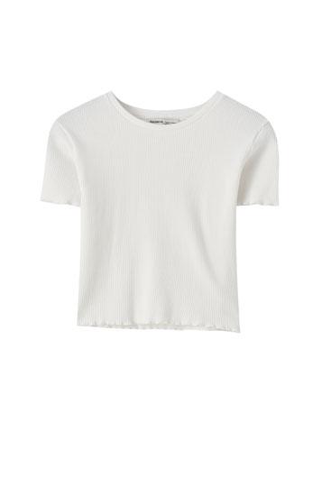 Camiseta básica rizados