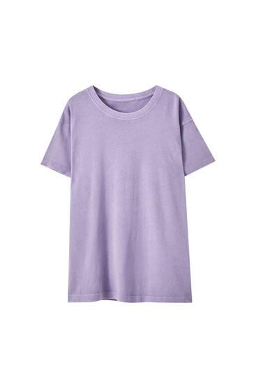 Basic faded oversized T-shirt