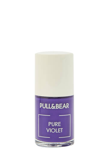 Pure Violet nail varnish