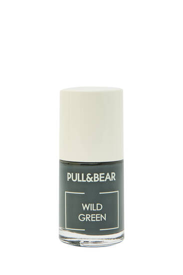 Wild Green nail varnish