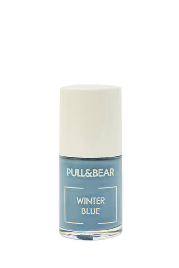 Winter Blue nail varnish