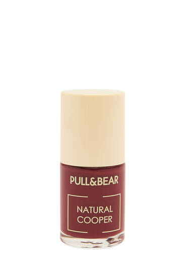 Natural Cooper nail varnish