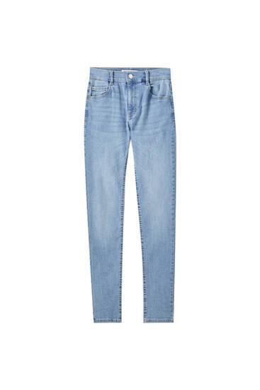 Τζιν παντελόνι skinny με κανονική μέση