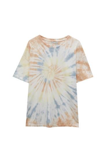 Oversize tie-dye T-shirt