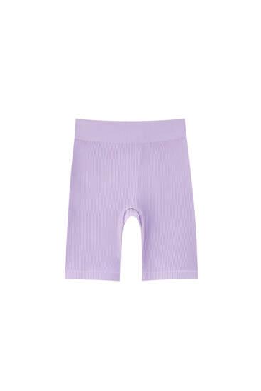 Pantaloni ciclism reiați cu betelie elastică