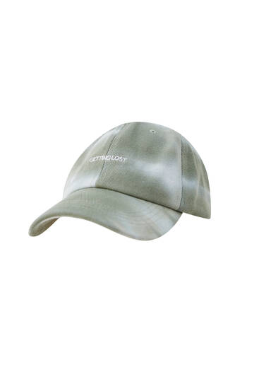 Batikos rašto kepuraitė su snapeliu