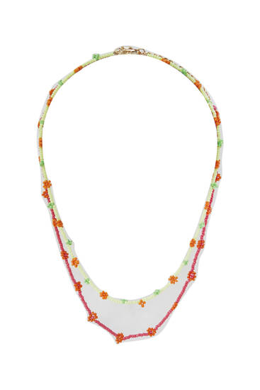 2-pack of daisy bead necklaces