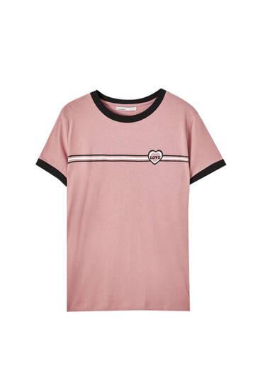Camiseta bandas rib