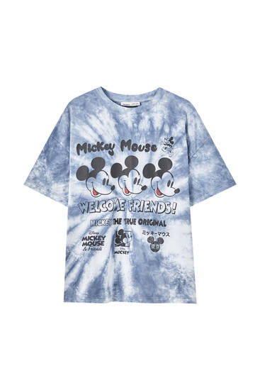 Camiseta Mickey Mouse Disney tie-dye