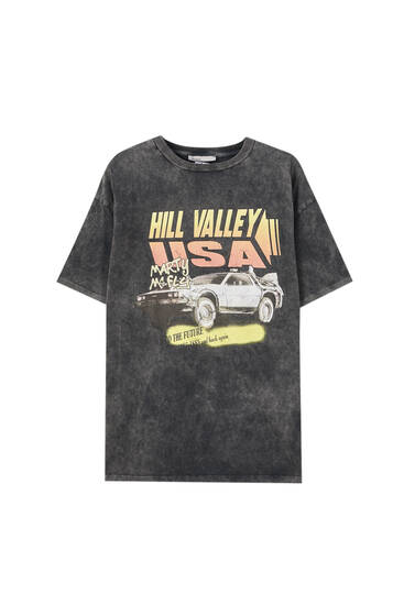 Back to the Future Hill Valley T-shirt