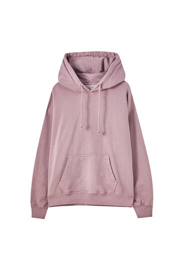 Basic long sleeve hoodie