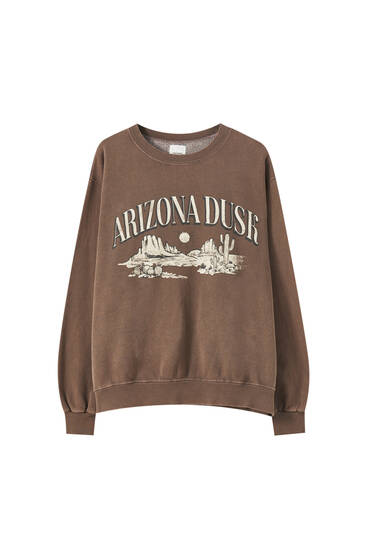 Sweat marron