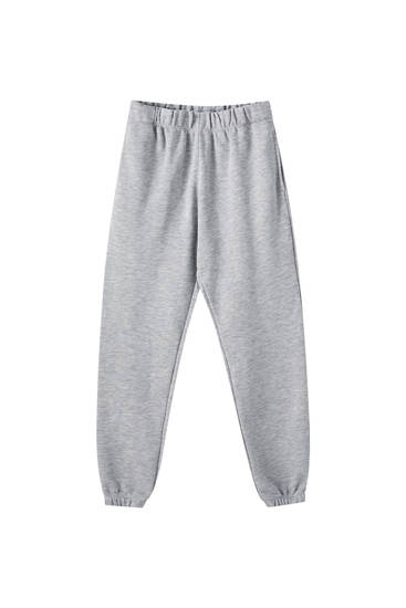 Pantalon jogger élastique dans le bas