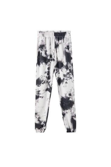 Παντελόνι jogger tie-dye