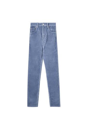 Κοτλέ παντελόνι slim fit