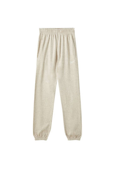 Embroidered STWD jogging trousers