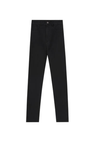 High waisted skinny jeans