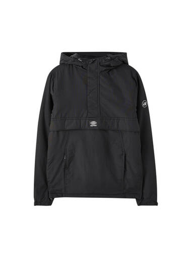 Basic pouch pocket jacket