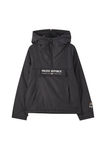 """Pacific Republic"" anorak jacket"