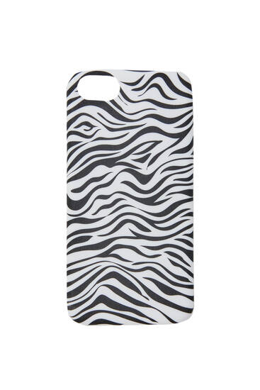 Zebra-effect smartphone case