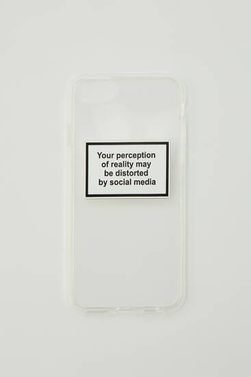 'Social media' smartphone case