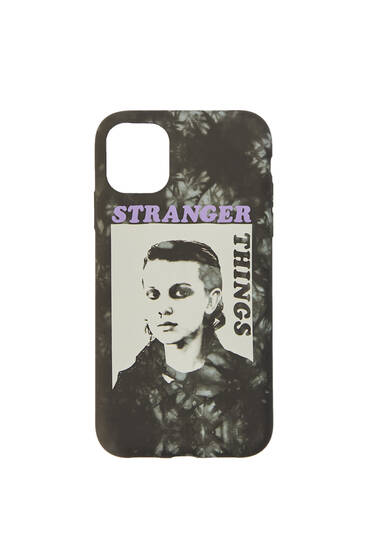 Cover per smartphone Stranger Things contrasto