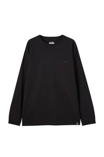 Μπλούζα basic από 100% βαμβάκι