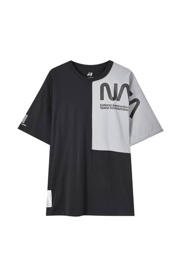 NASA T-shirt with reflective detail