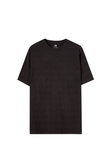 Μπλούζα basic με λωρίδες