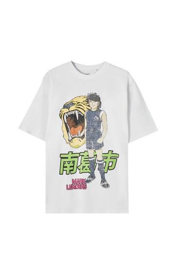 Kojiro Hyuga Captain Tsubasa T-shirt
