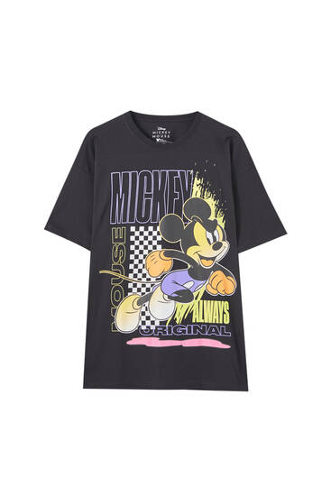 Neon Mickey Mouse T-shirt