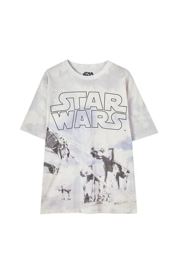 Playera Star Wars tie dye