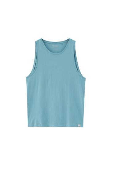 Camiseta básica tirantes - 100% algodón orgánico