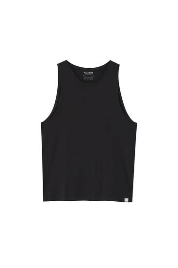 Basic tank top - 100% ecologically grown cotton