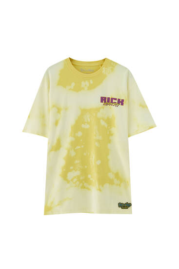 Rick & Morty tie-dye T-shirt