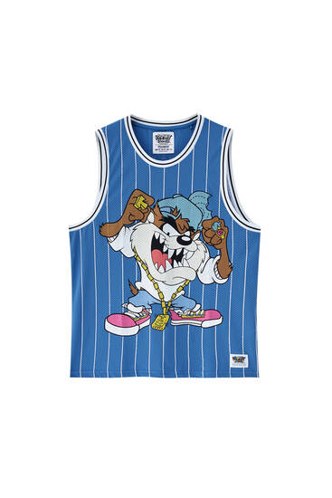 Oversize Bugs Bunny vest top