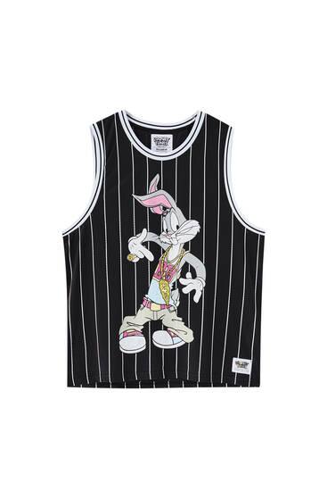 Playera tirantes oversize Bugs Bunny